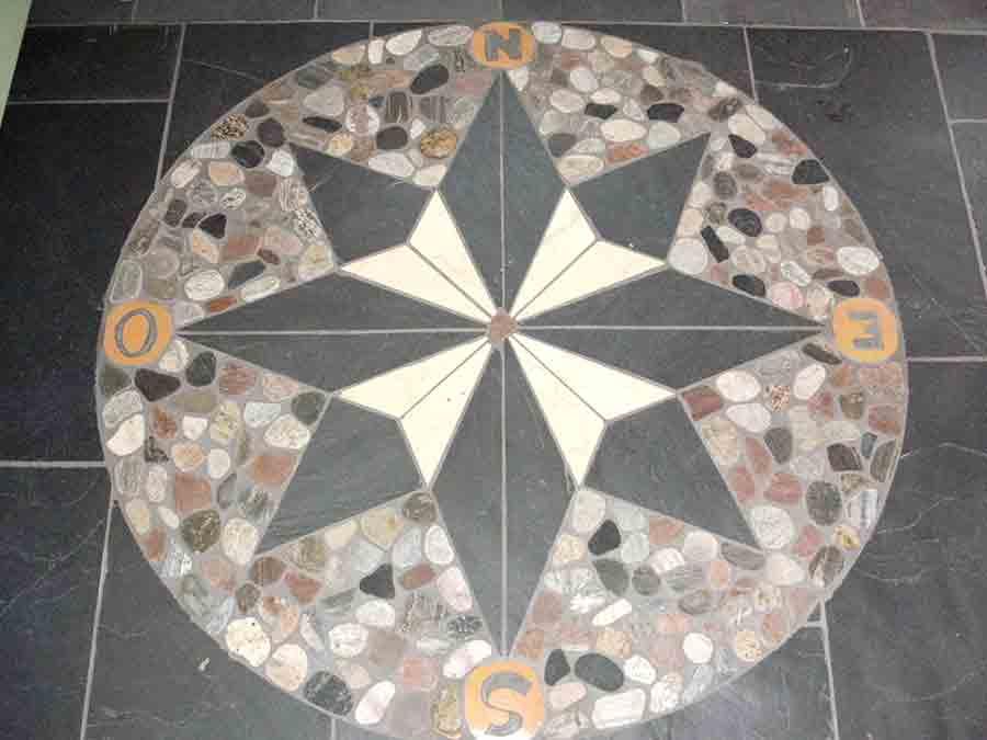 Design mosaique ardoise salle de bain 15 versailles for Castorama 15 aout